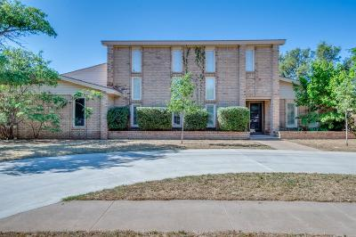 Lubbock Single Family Home For Sale: 4609 7th Street