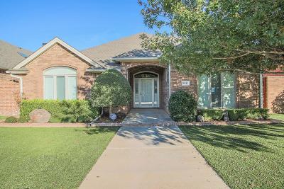 Lubbock Single Family Home For Sale: 9811 Salisbury Avenue