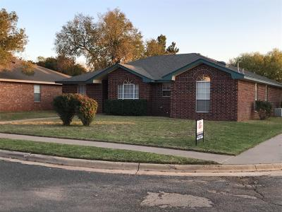 Lubbock TX Single Family Home For Sale: $145,000