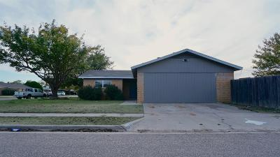 Lubbock Single Family Home For Sale: 5412 39th Drive