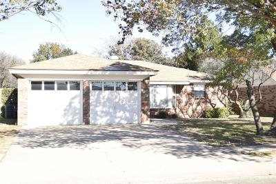 Lubbock Single Family Home For Sale: 5702 93rd Street
