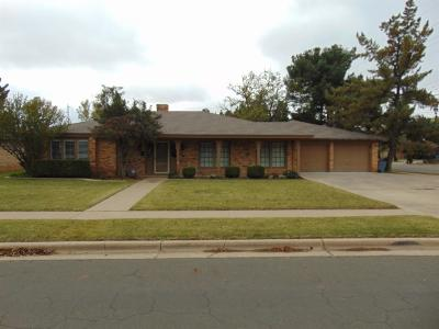 Lubbock County Single Family Home Contingent: 3717 70th