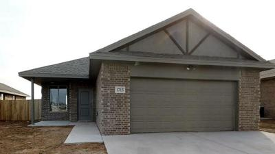 Lubbock TX Single Family Home For Sale: $170,050