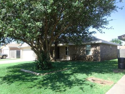 Lubbock Single Family Home For Sale: 6812 Hope Avenue