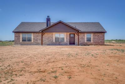 Shallowater Single Family Home Under Contract: 14809 N Farm Road 179