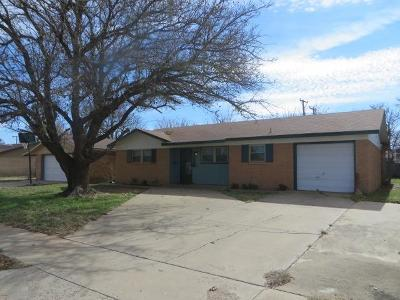 Lubbock Single Family Home For Sale: 5431 42nd Street