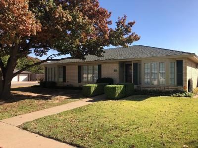 Lubbock Single Family Home For Sale: 5501 74th Street