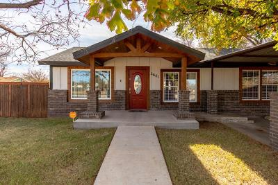 Lubbock TX Single Family Home For Sale: $85,000