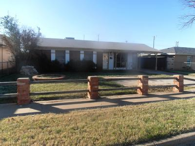 Lubbock TX Single Family Home For Sale: $59,500