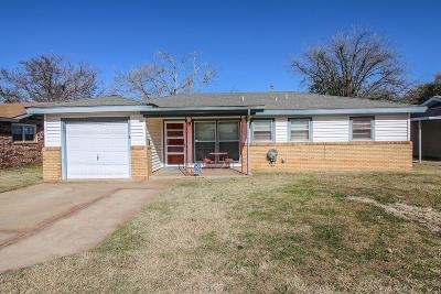 Lubbock TX Single Family Home For Sale: $86,000