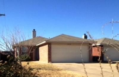 Lubbock Single Family Home Under Contract: 8118 Temple Avenue