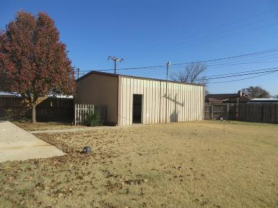 Slaton TX Single Family Home For Sale: $110,000
