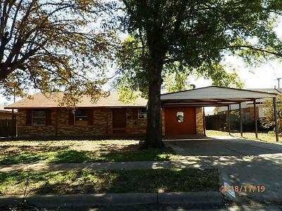 Lubbock Single Family Home Under Contract: 1503 48th Street