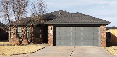 Wolfforth TX Single Family Home Under Contract: $198,900