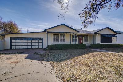 Tahoka Single Family Home For Sale: 1613 N 3rd Street