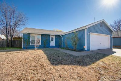 Lubbock Single Family Home For Sale: 9505 Detroit Avenue