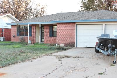 Lubbock Single Family Home Under Contract: 5511 37th Street