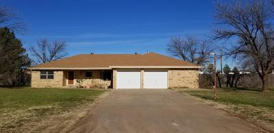 Lubbock TX Single Family Home Under Contract: $155,000
