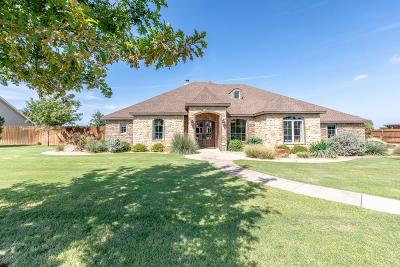 Lubbock TX Single Family Home For Sale: $550,000