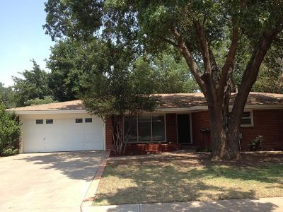 Single Family Home For Sale: 2718 59th Street