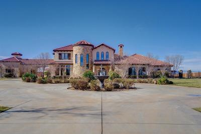Lubbock TX Single Family Home For Sale: $1,900,000