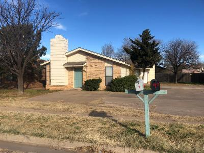 Lubbock Multi Family Home Under Contract: 6114 37th Street