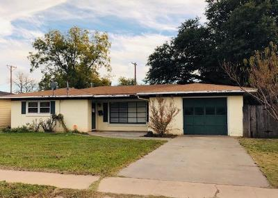 Lubbock Single Family Home For Sale: 4313 40th Street