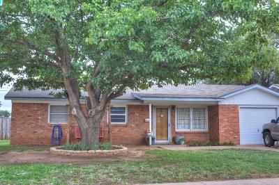Lubbock Single Family Home For Sale: 1901 70th Street