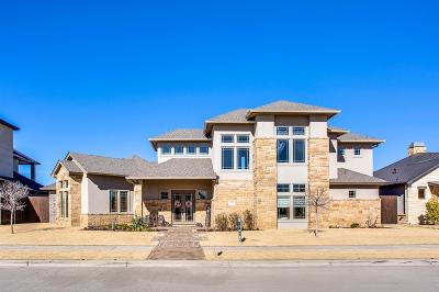 Lubbock TX Single Family Home For Sale: $710,000