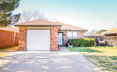 Lubbock Single Family Home For Sale: 8418 Ave V