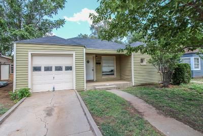 Lubbock Single Family Home For Sale: 2122 28th Street
