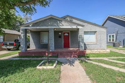Lubbock County Single Family Home For Sale: 2310 15th Street