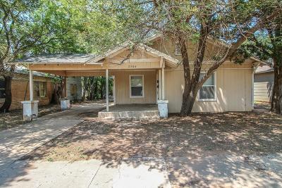Lubbock Single Family Home For Sale: 2304 Ave U