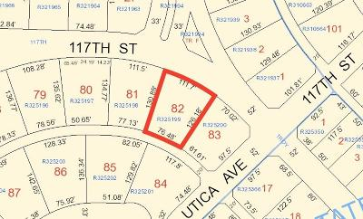 Lubbock County Residential Lots & Land For Sale: 11704 Utica Avenue