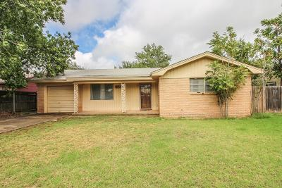 Lubbock Single Family Home For Sale: 5318 23rd Street