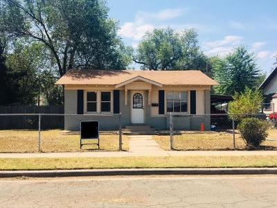 Lubbock Single Family Home For Sale: 1921 27th Street