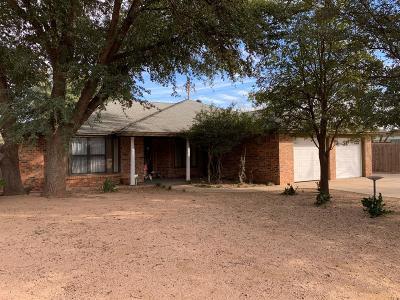 Lubbock Single Family Home For Sale: 8017 Richmond Avenue