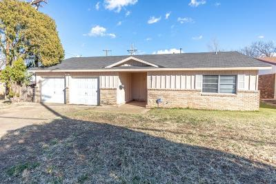 Lubbock Single Family Home For Sale: 6607 Ave U