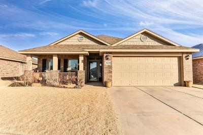 Lubbock Single Family Home Under Contract: 5608 111th Street