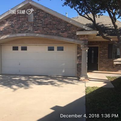 Lubbock Townhouse For Sale: 5811 11th Place