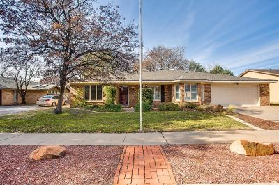 Lubbock Single Family Home For Sale: 7906 Vicksburg Avenue