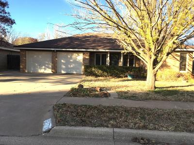 Lubbock TX Single Family Home For Sale: $167,900