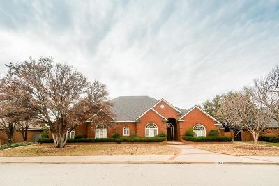 Lubbock TX Single Family Home For Sale: $650,000