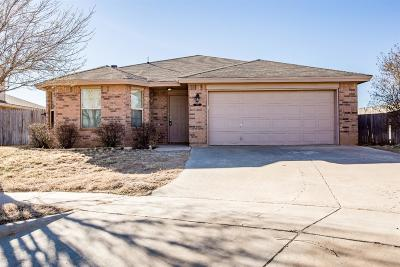 Lubbock Single Family Home For Sale: 2911 106th Street