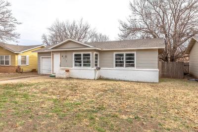 Lubbock County Single Family Home For Sale: 4625 Elgin Avenue