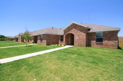 Lubbock Townhouse For Sale: 6812 67th Street