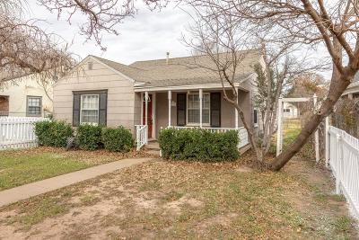 Lubbock Single Family Home For Sale: 2414 30th Street
