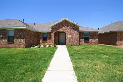 Lubbock Townhouse For Sale: 6904 67th Street