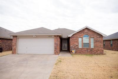 Lubbock Single Family Home For Sale: 6707 8th Street