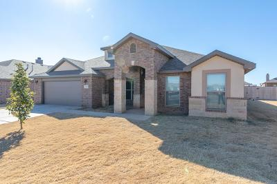 Lubbock Single Family Home For Sale: 7453 102nd Street